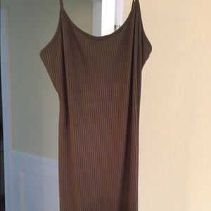 NWOT Knit bodycon dress